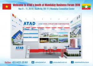 Welcome to visit ATAD's booth at Mandalay Business Forum 2018