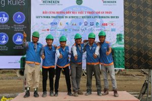 ATAD HSE team at Heineken site