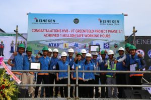 ATAD project team at Heineken construction site