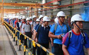 Students of University of Technology visited ATAD Dong Nai factory 4