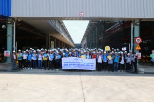 Students of University of Technology visited ATAD Dong Nai factory 5