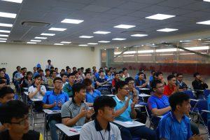 Students of University of Technology visited ATAD Dong Nai factory 1