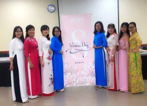 Happy women's day at ATAD 3