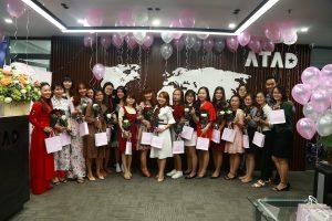 Happy women's day at ATAD 4
