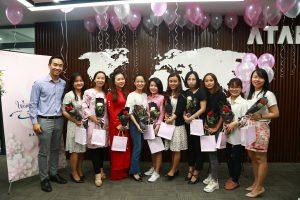 Happy women's day at ATAD 5