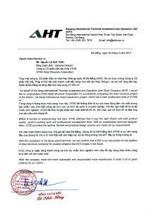 Đà Nẵng Testimonial