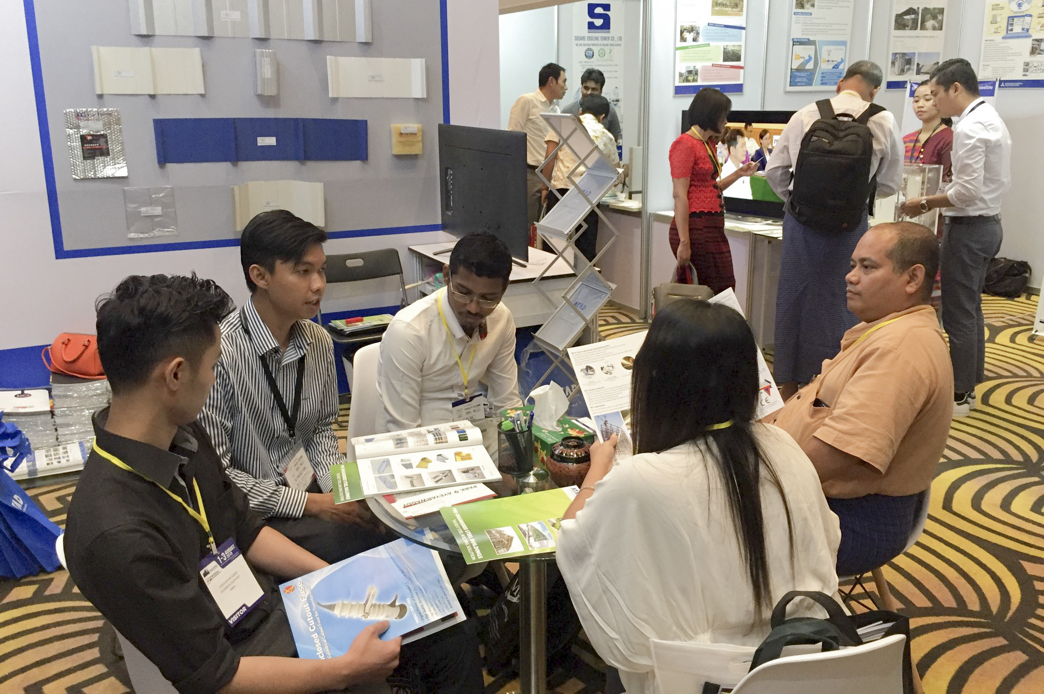 ATAD participated in Builders Myanmar Exhibition 2019 - ATAD