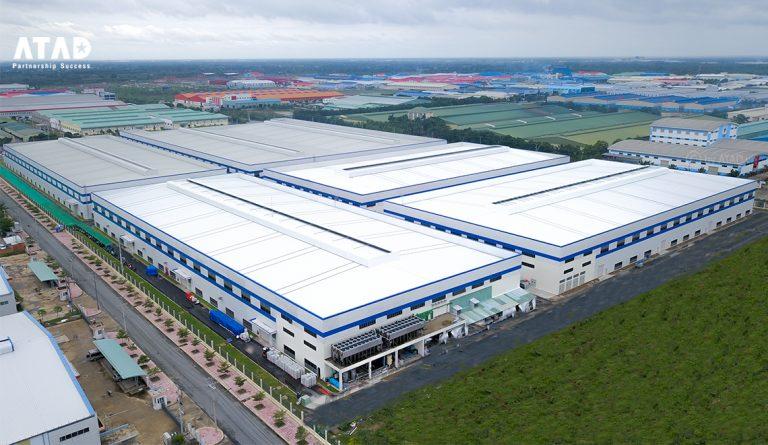 อาร์ทัดสร้างโรงงานผลิตพลาสติกให้กับบริษัท Duy Tan แล้วเสร็จสมบูรณ์