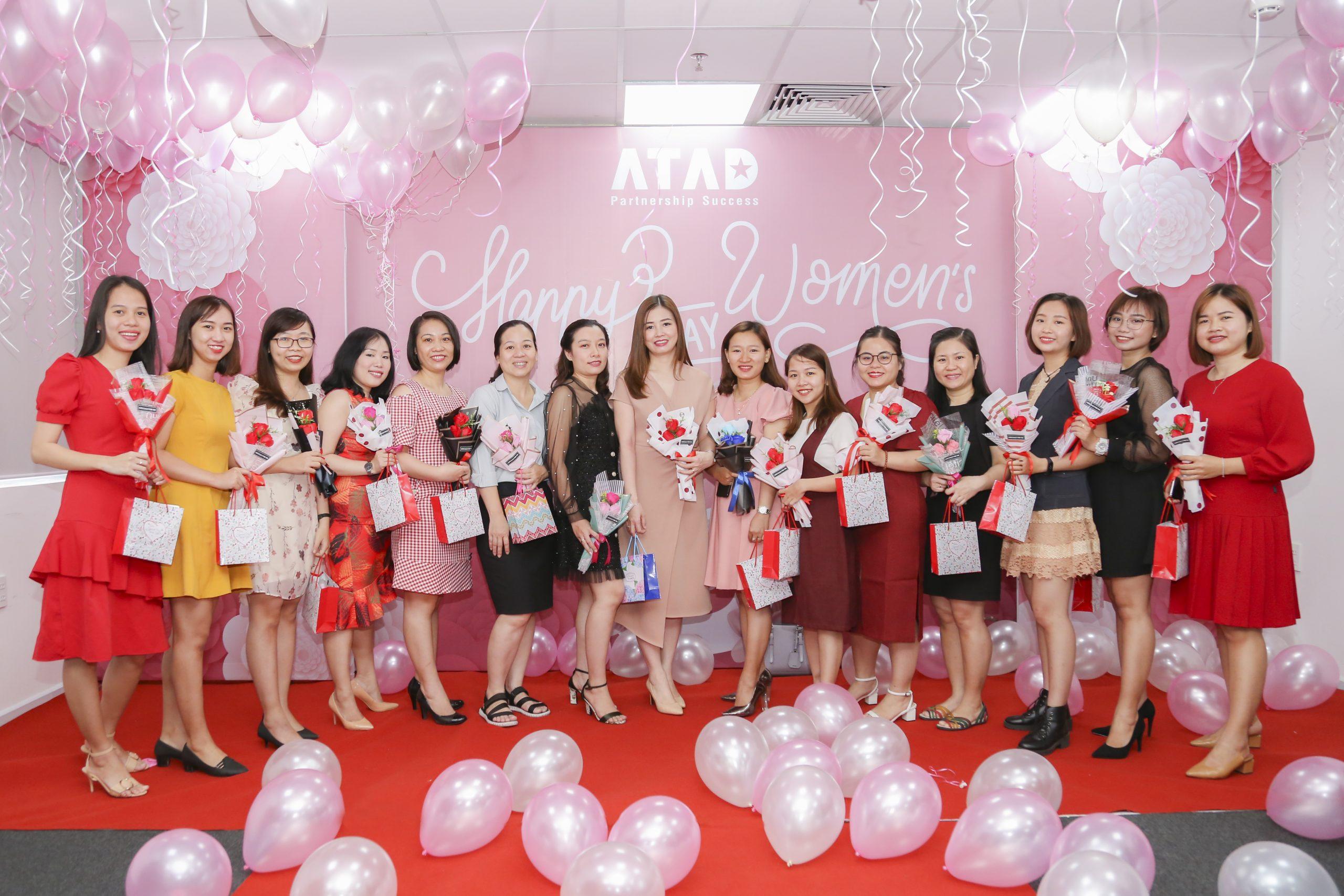 Rộn ràng 8 tháng 3 yêu thương tại ATAD