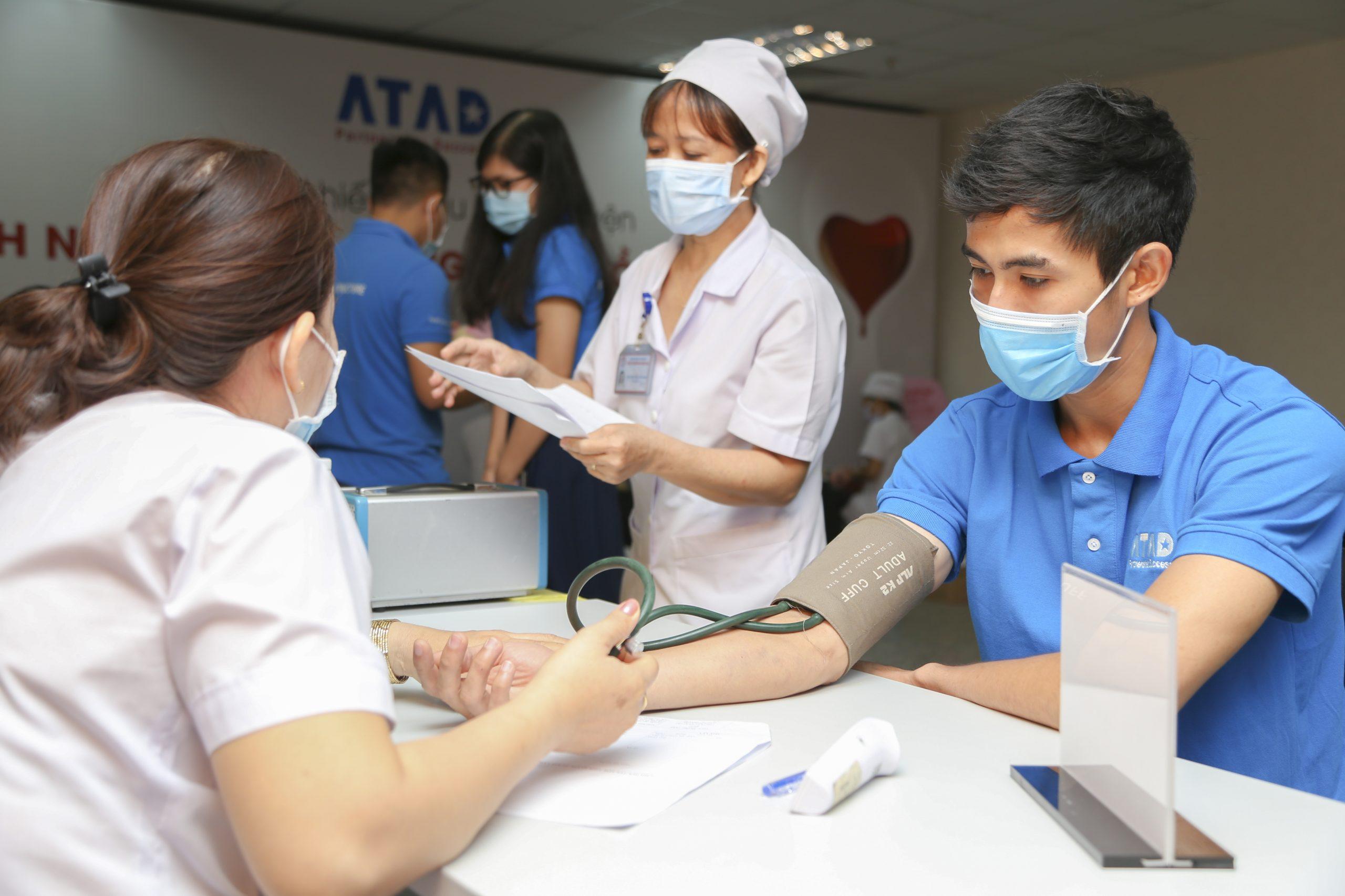 """ATAD举办""""社区责任-红血分享""""的献血日"""