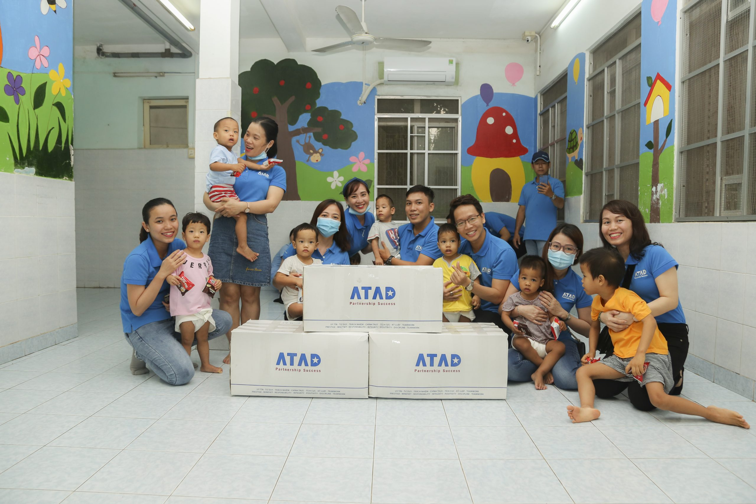 ATAD presented gifts for children on International Children's Day 1