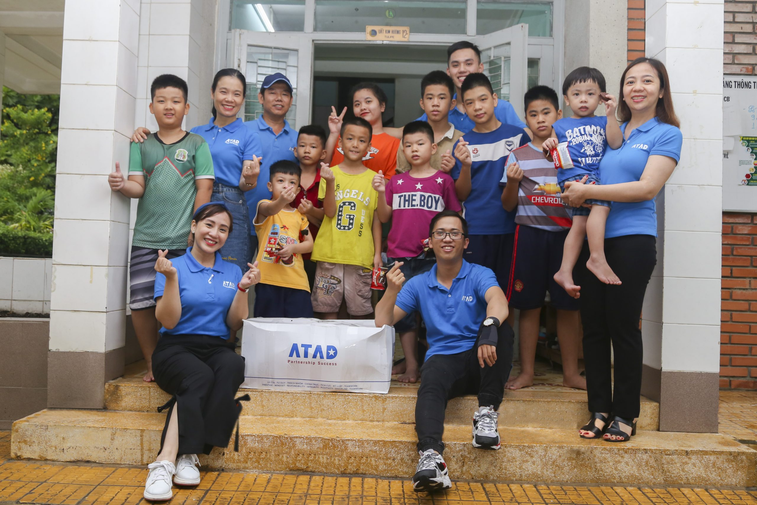 ATAD presented gifts for children on International Children's Day