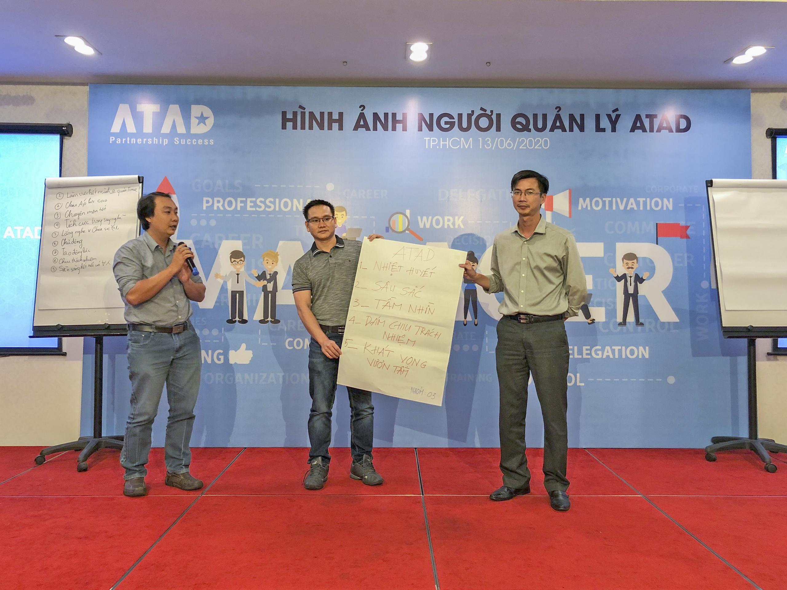 """""""Image of ATAD manager"""" training program 3"""