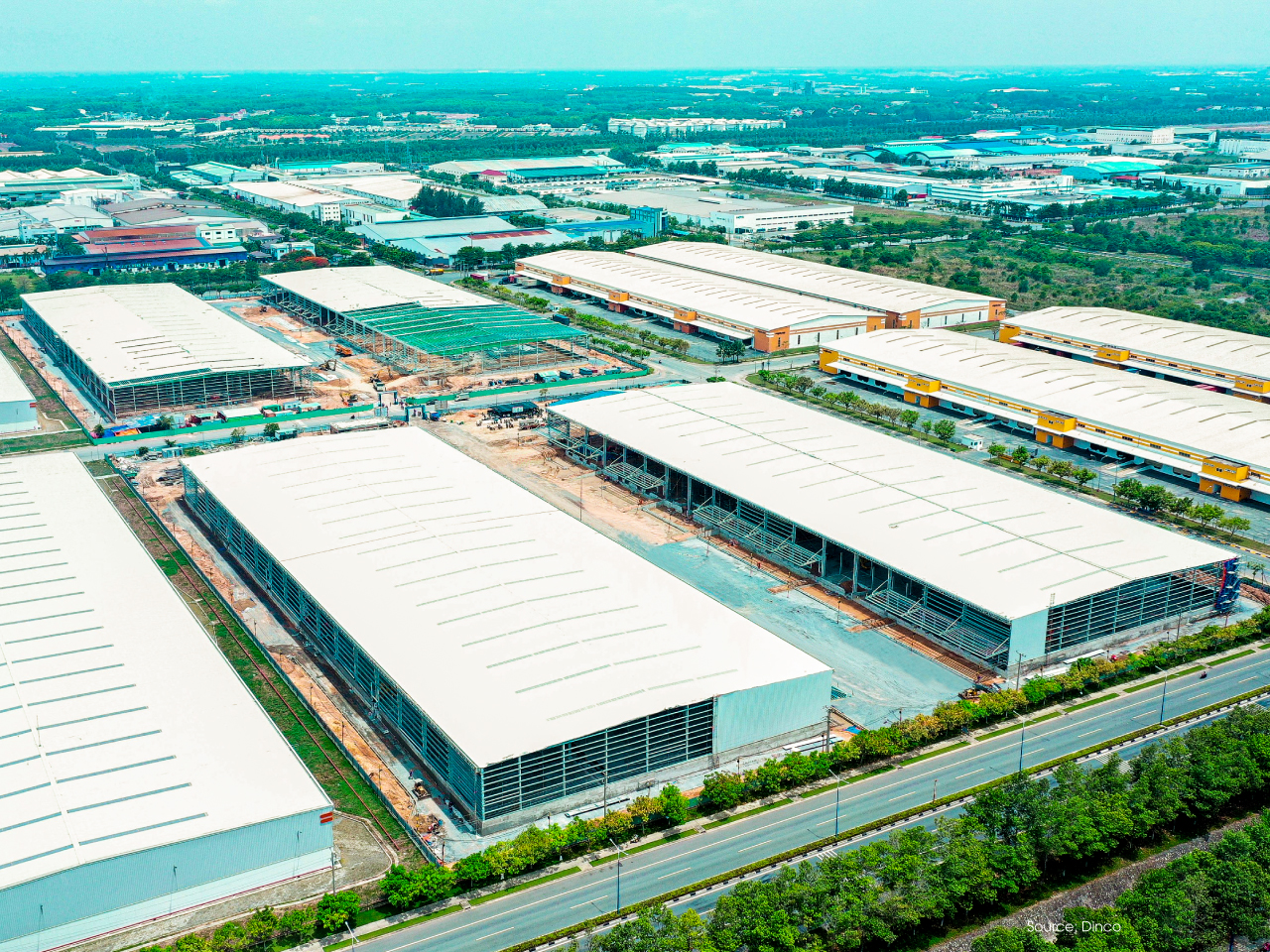 ATAD implemented Mapletree logistics warehouse phase 5 project, Binh Duong