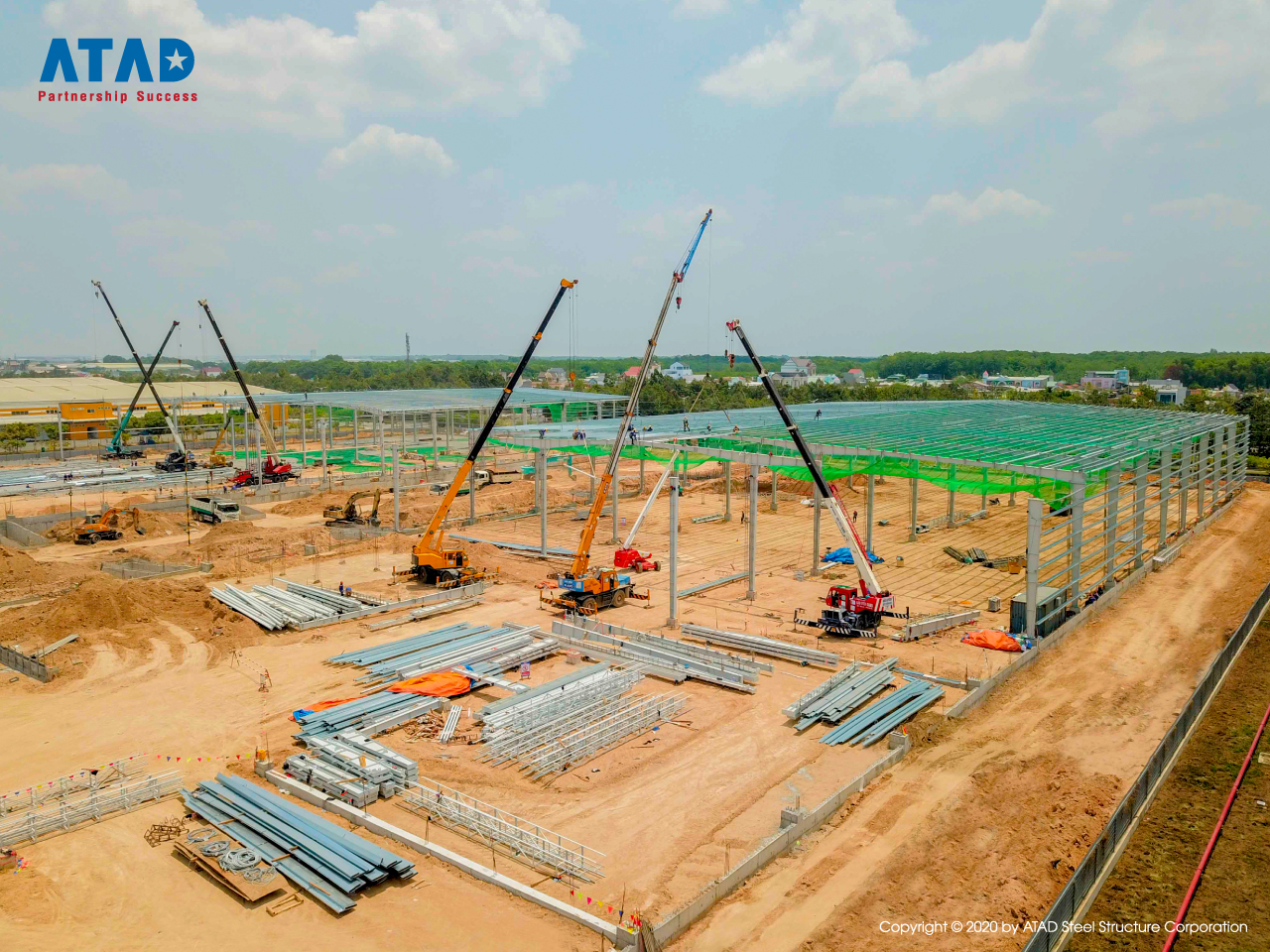 ATAD implemented Mapletree logistics warehouse phase 5 project, Binh Duong 1