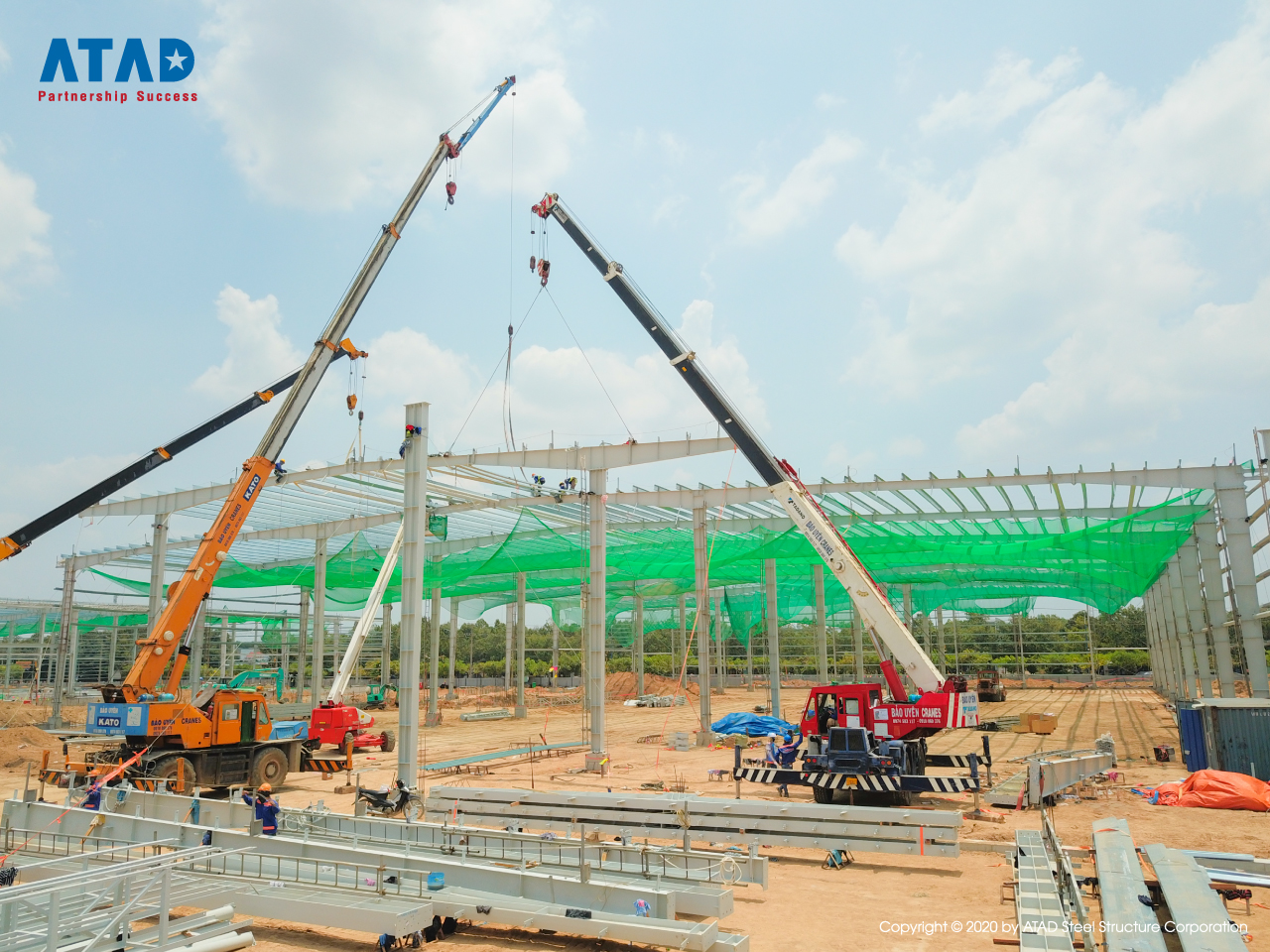 ATAD implemented Mapletree logistics warehouse phase 5 project, Binh Duong 2