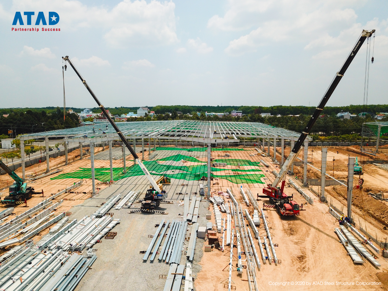 ATAD implemented Mapletree logistics warehouse phase 5 project, Binh Duong 3
