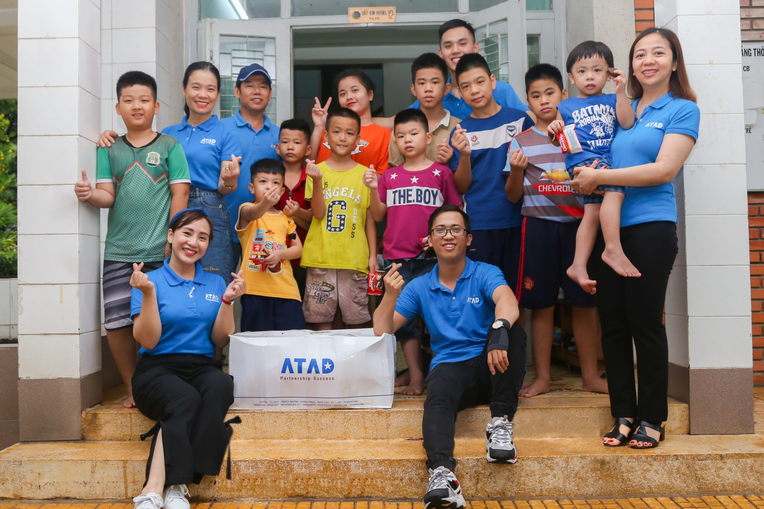 ATAD members  actively participated in charity and volunteering activities