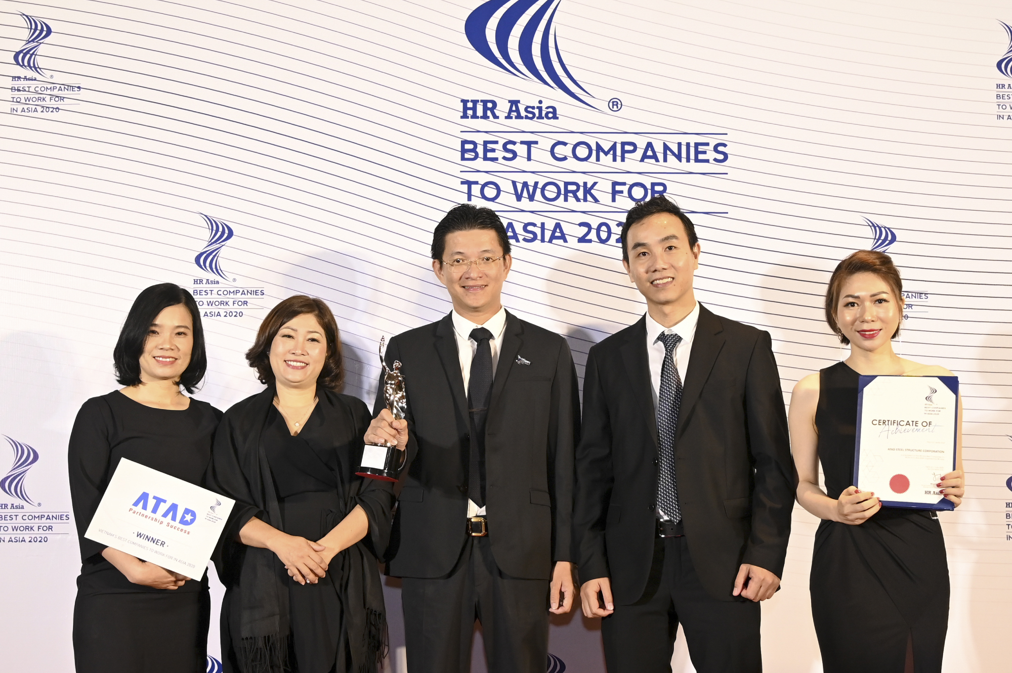ATAD Steel Structure Corporation honored amongst Best Companies To Work In Asia 2