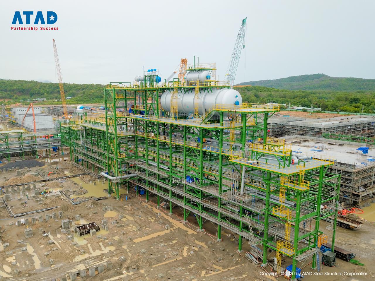 ATAD implemented Long Son Petrochemicals Complex, Ba Ria - Vung Tau 1