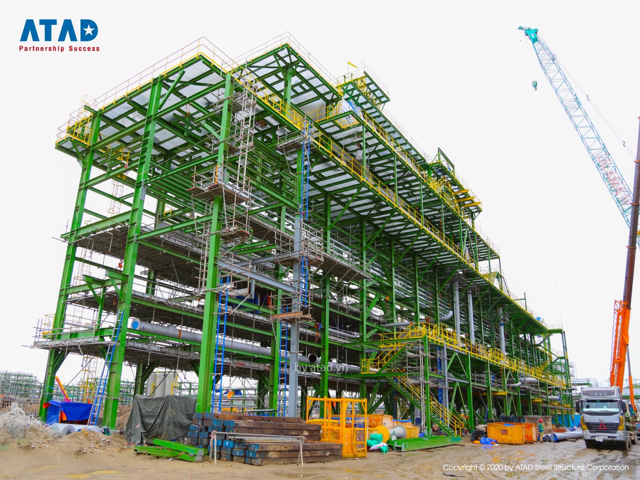 ATAD implemented Long Son Petrochemicals Complex, Ba Ria - Vung Tau