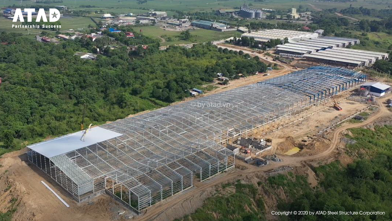 ATAD implemented Tobacco Processing Plant, Philippines 1