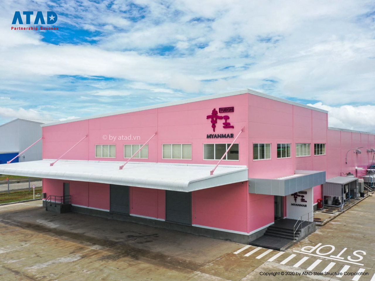 ATAD handed over Yukioh factory project, Myanmar