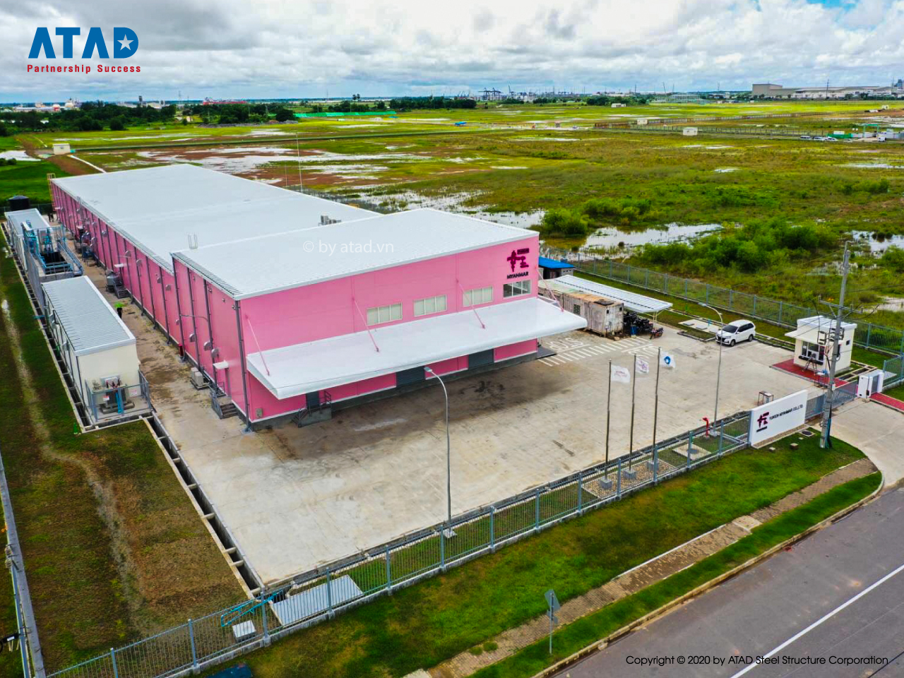 ATAD handed over Yukioh factory project, Myanmar 2