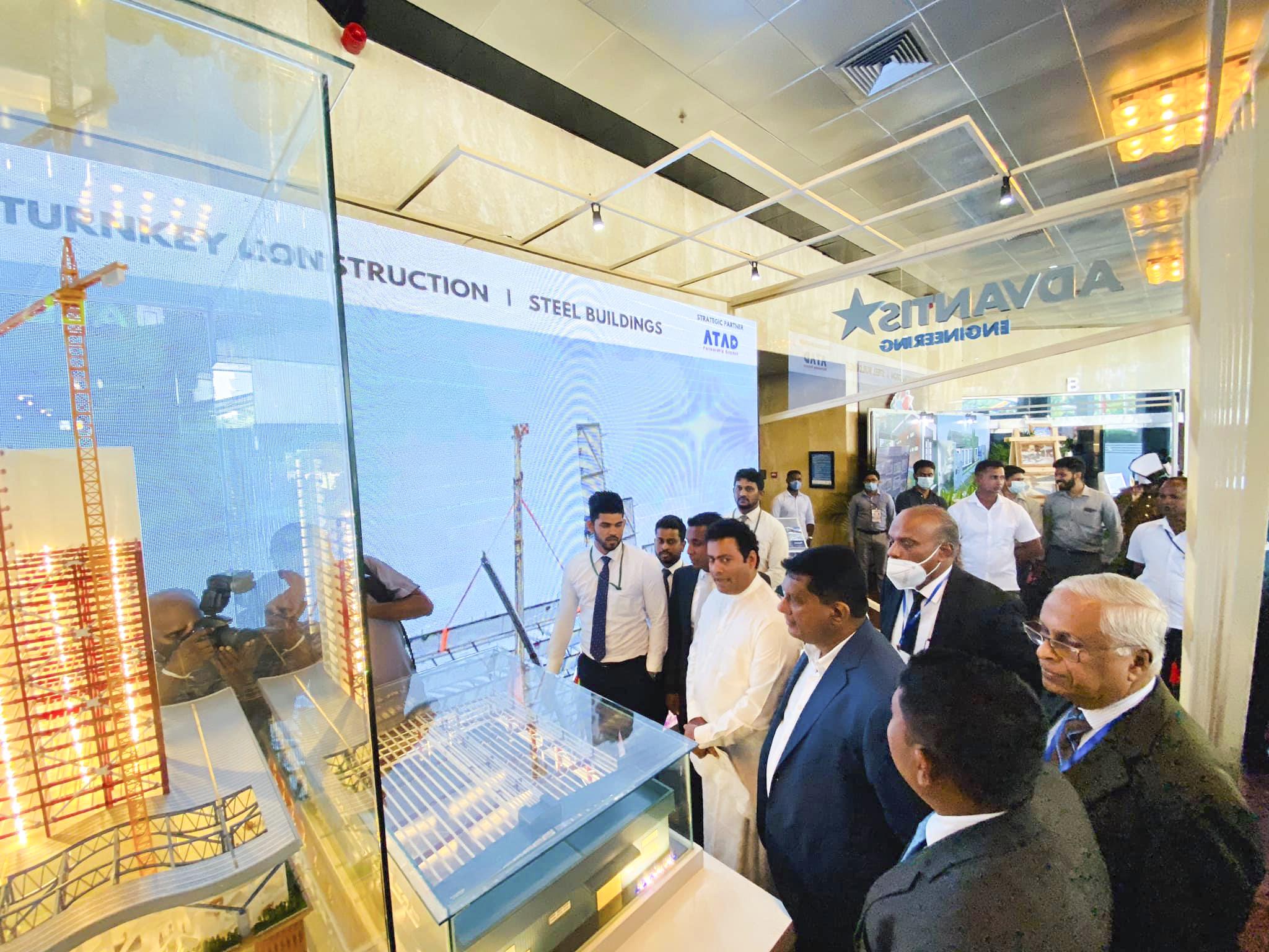 ATAD and strategic partner Advantis Engineering participated in BuildSL 2020 exhibition