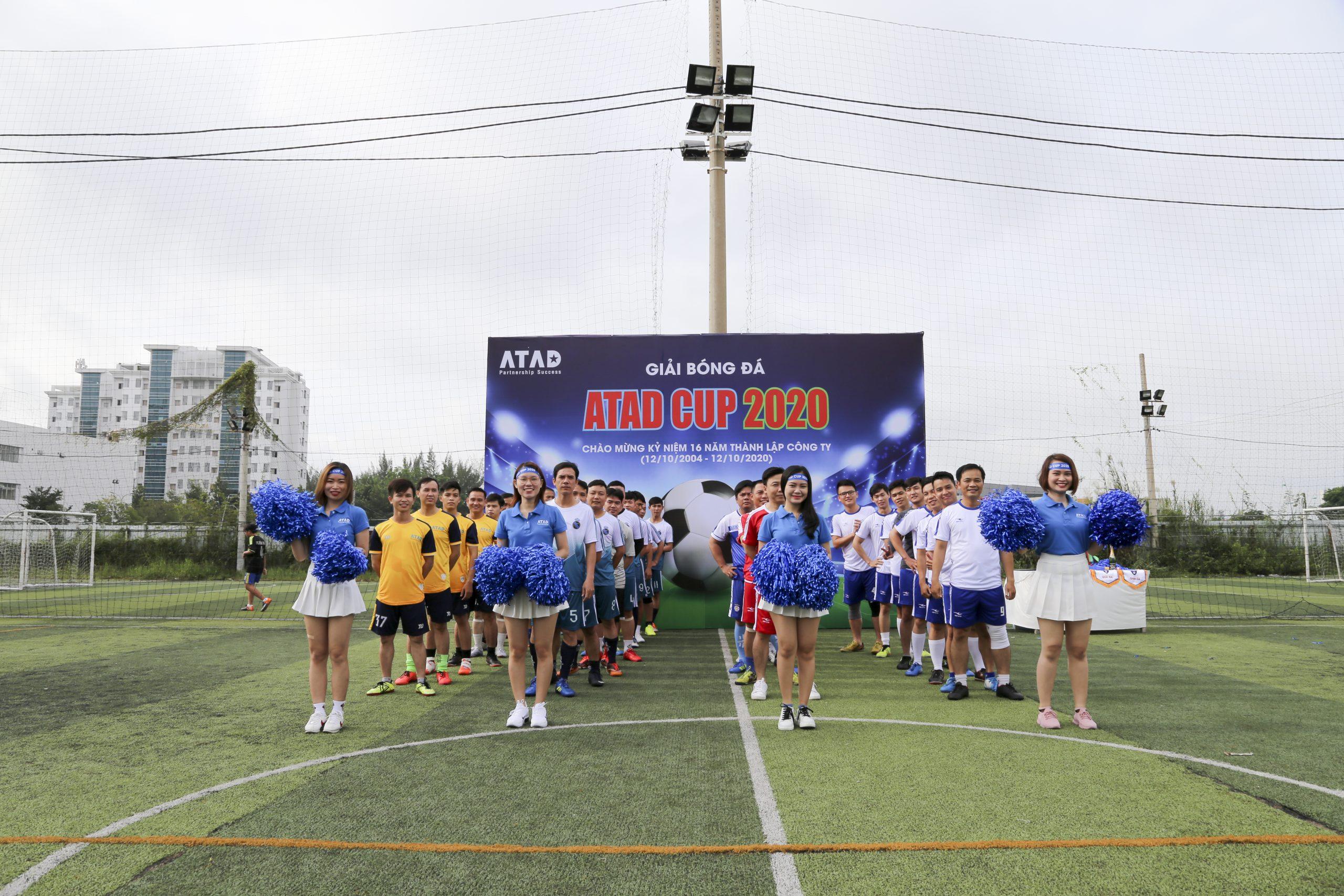 庆祝公司成立16年的令人兴奋的2020 ATAD杯足球赛