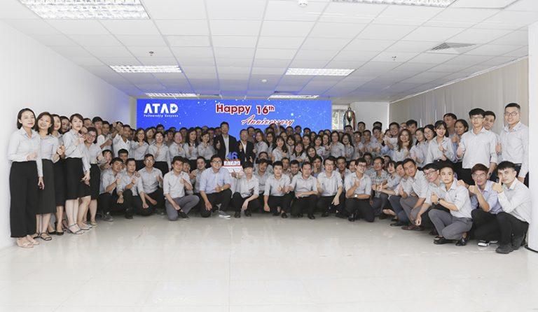 ဝမ်းမြောက်ဖွယ် ATAD ၁၆ နှစ်ပြည့်အခမ်းအနား