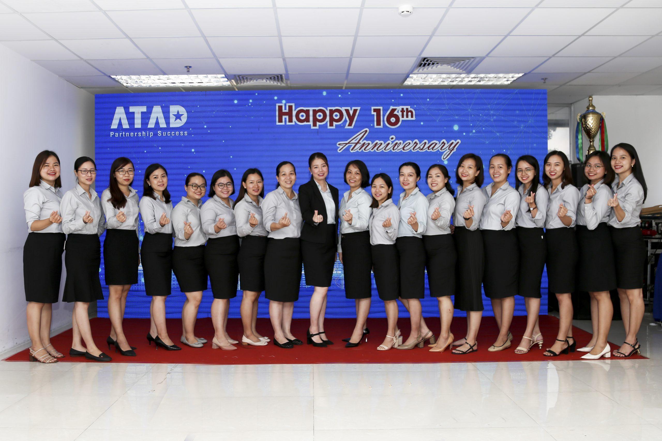 Happy ATAD 16th anniversary