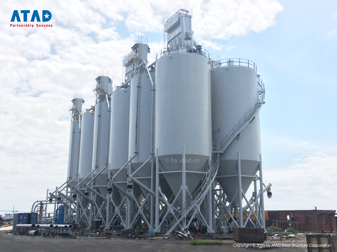 ATAD implemented silo structure of Hoa Phat's S95 general systems