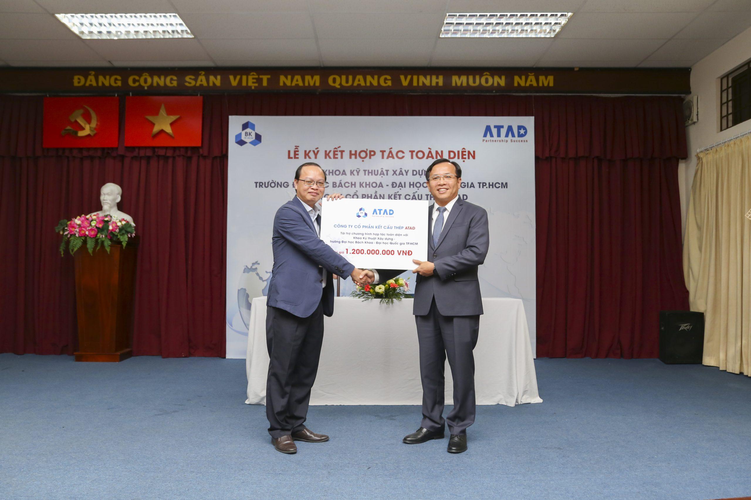 ATAD ký kết hợp tác toàn diện với khoa Kỹ thuật Xây dựng - Trường Đại học Bách Khoa