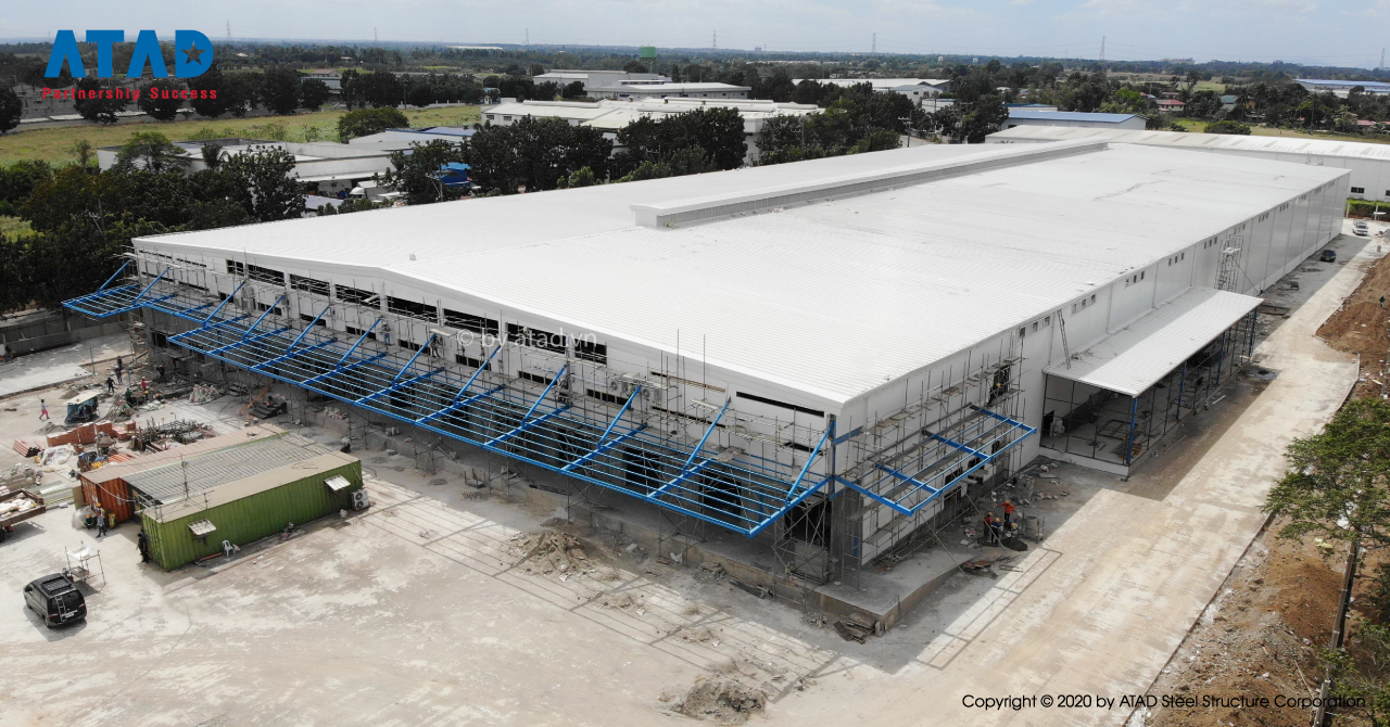 ATAD completed Alfamart warehouse project, Philippines