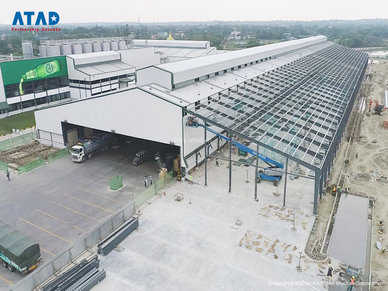 ATAD continues to implement Emerald Brewery Expansion project, Myanmar