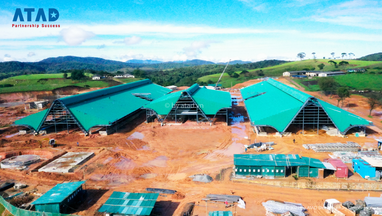 ATAD implemented Dairy Farm project, Sri Lanka