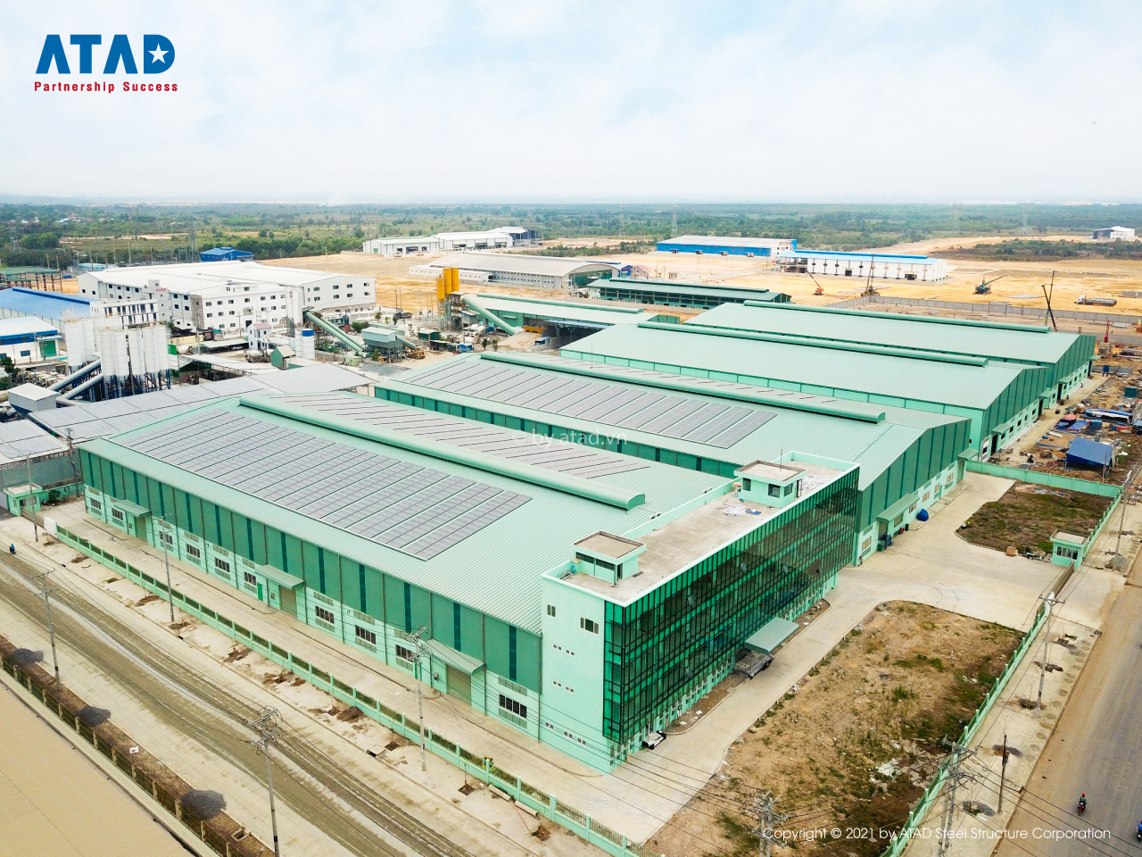 ATAD completed Manh Phuong Electric (MPE) factory project
