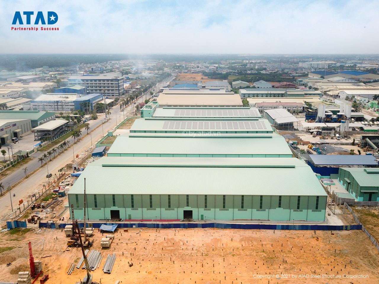 ATAD hoàn thành dự án Nhà máy sản xuất thiết bị Điện Mạnh Phương (MPE) tại Long An