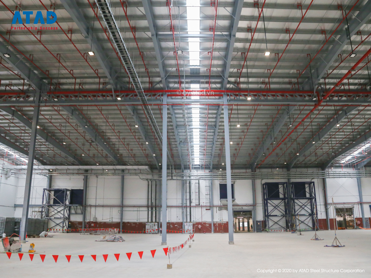 ATAD completed Jotun Vietnam Greenfield factory project