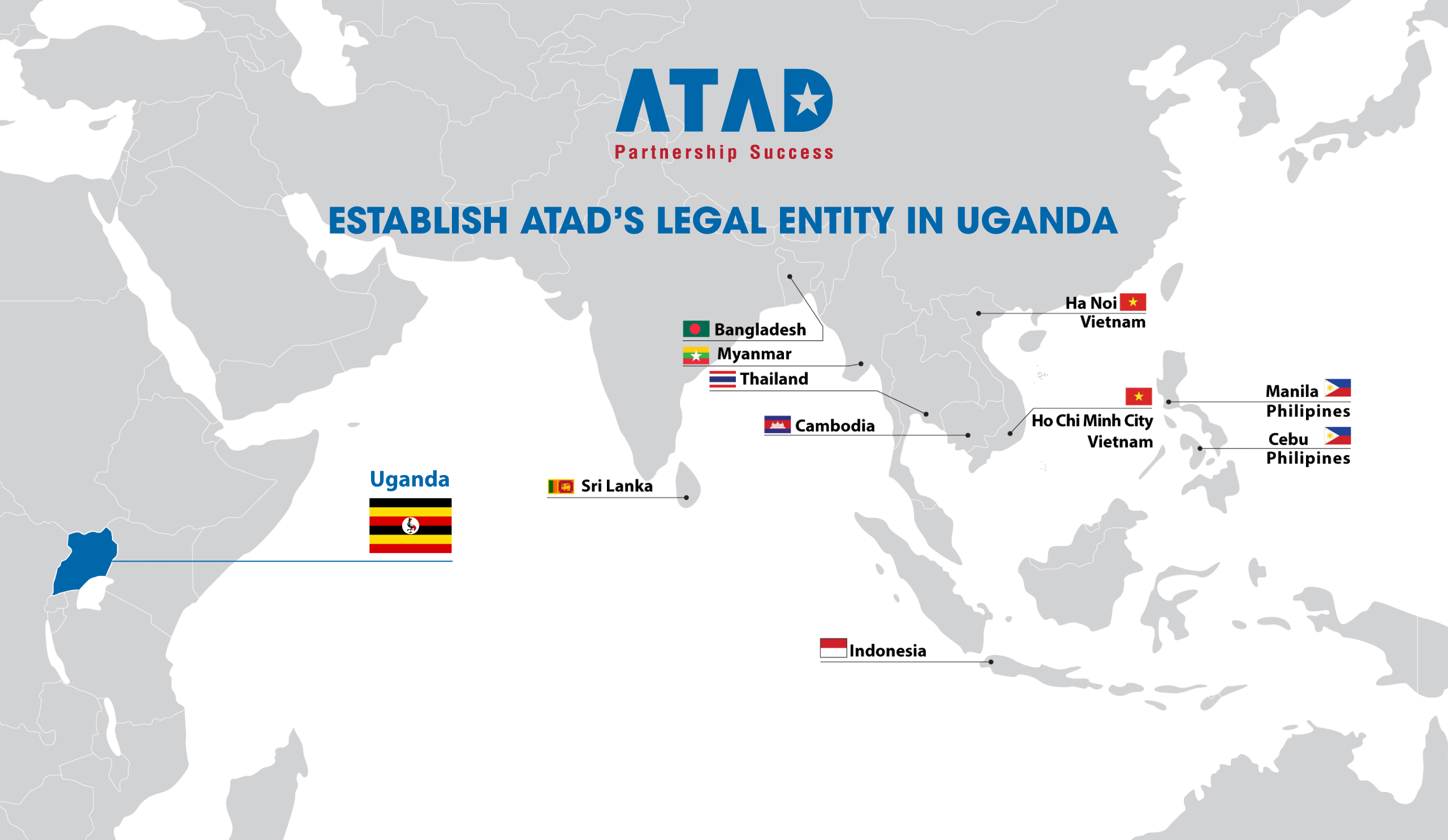 Establish ATAD's Legal Entity in Uganda
