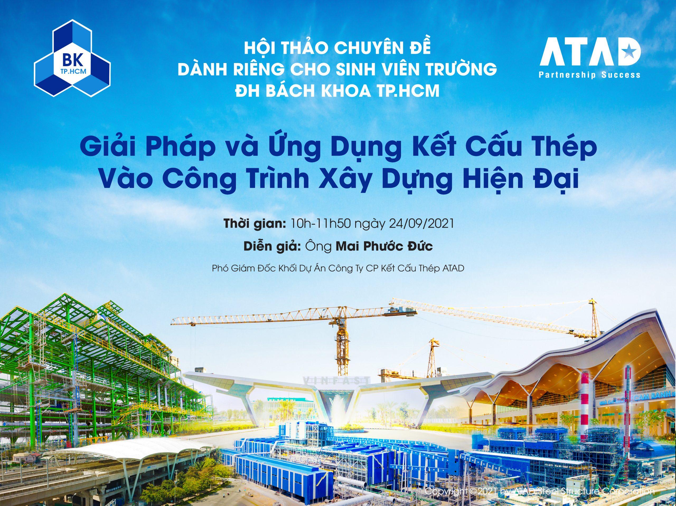 Hội thảo chuyên đề dành riêng cho sinh viên trường Đại học Bách Khoa TP.HCM