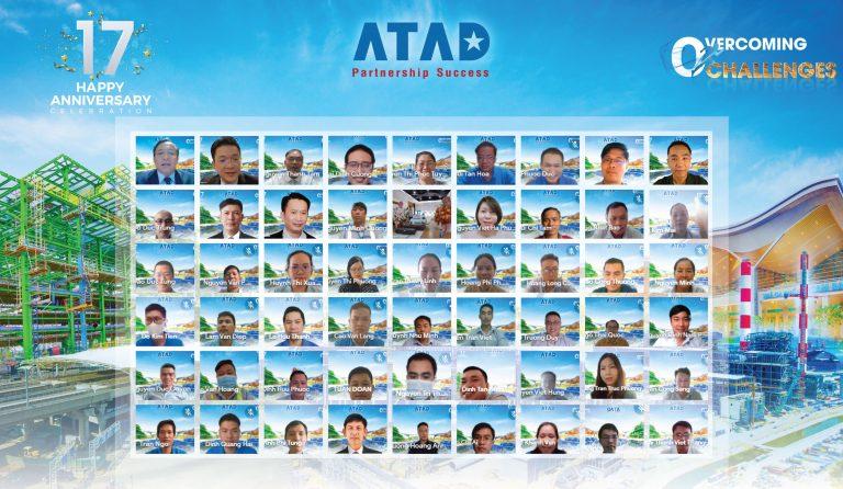 ATAD鉄骨造株式会社の創立17周年記念日